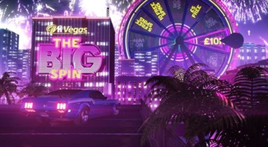 wh vegas the big spin